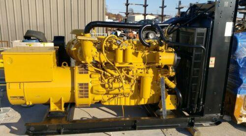Caterpillar Generator Diesel 250KW Prime Load Tested Generator Set Teir 2