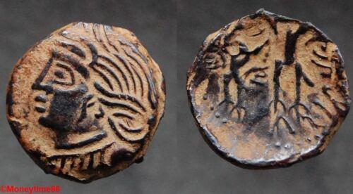 Gauloise Bituriges Cubi SUPERBE bronze de type CALIAGIIS à l