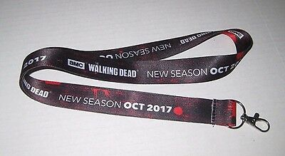 SDCC 2017 Comic Con Exclusive AMC The Walking Dead Lanyard