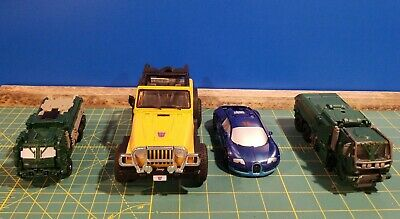 Transformers movie figures lot