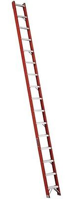 New Louisville Ladder - Fh1016 - 16 Fiberglass Shelf Ladder Type Ia