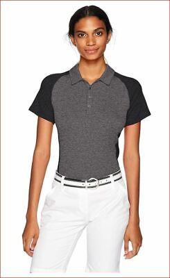 Nuevo adidas Mujer Camisa Camiseta Polo Golf Cualquier Deporte BC7346 Gris XS