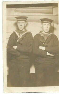 WWI postcard unidentified members of the Royal Naval Division RND