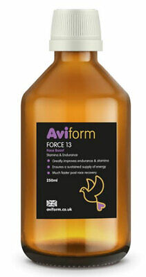 Aviform FORCE 13 New Formula Supplement for Racing Pigeons 250ml