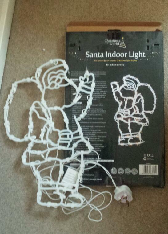 Santas indoor lights