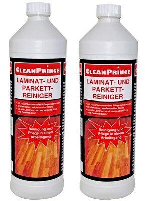 2 Litro Limpiador de Laminado Korkreiniger Parquet Cuidado Suelos Corcho