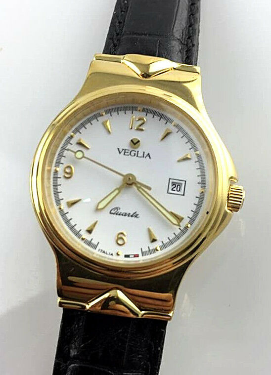 OROLOGIO VEGLIA TITANIO DONNA WATCH VINTAGE NEW OLD STOCK SWISS CORONA A VITE