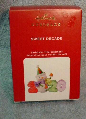 Hallmark Keepsake 2020 Ornament  Sweet Decade 1st In Series ~ 1st Decade Series