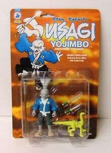 Stan Sakai's Usagi Yojimbo Action Figure 1998 Antarctic Press Toys NMOC