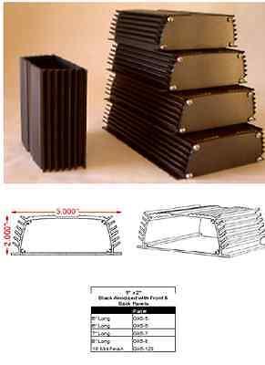 Aluminum Project Box Enclosure 2x5x5 Model Gk5-5