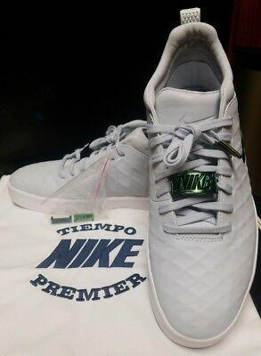the latest d6d59 ba1bb Nike Tiempo Vetta 17 Pure Platinum White Gum 876245-002 RARE  250 Size 10.5