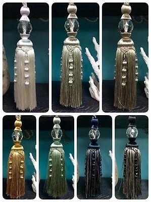 Glass Tassels (12