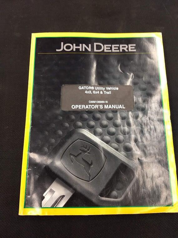 JOHN DEER GATOR 4X2, 6X4 AND TRAIL OMM136969 I0