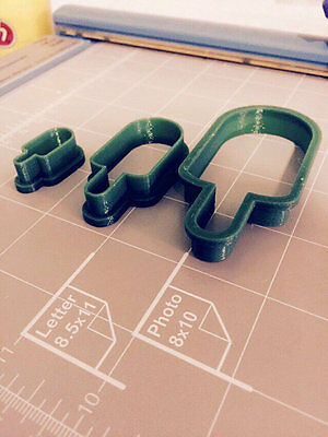Ice Cream Cookie Cutter - Choose Your Own -