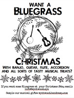 Bluegrass duo available for your Holiday gathering