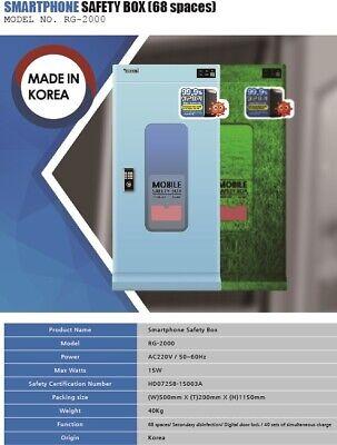 RG-2000 Storage box for smartphone, A type UV and Anion sterilization