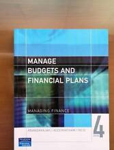 Manage Budgets and Financial Plans:Managing Finance Curtin Woden Valley Preview