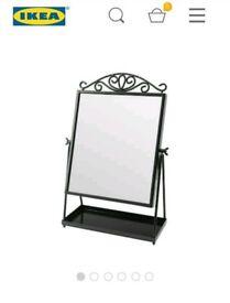 IKEA KARMSUND Black table mirror