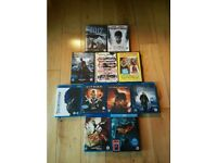 6 blu-ray and 5 standard dvds