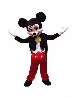 RENT Mickey Mouse Adult Mascot Costume Disney Halloween Party Birthday Boys Girl