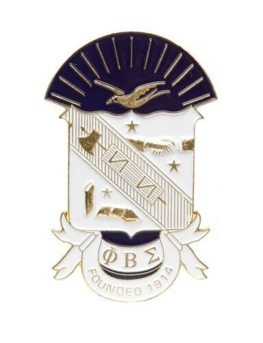 Phi Beta Sigma Fraternity Die-Cut Car Badge-New!
