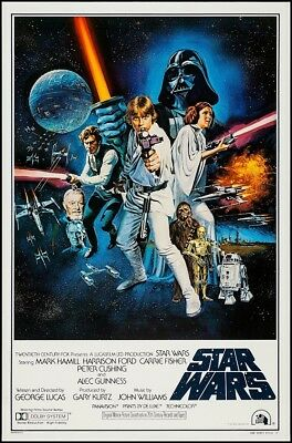 STAR WARS EPISODE IV A NEW HOPE MOVIE POSTER, USA Style C