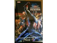 Captain America reborn hardback rare