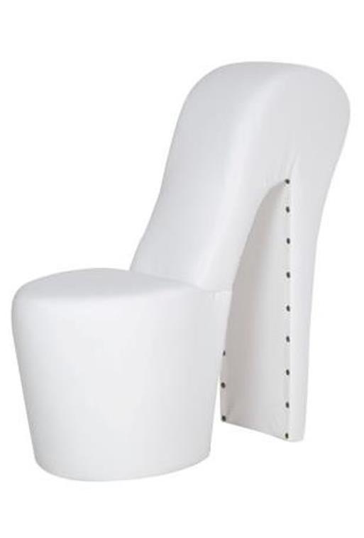 Schuhsessel Sessel Stuhl DESIGNER High Heel Mit Nieten In