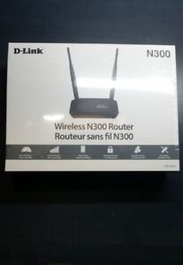 Wifi Router : D-Link Wireless N300 Router
