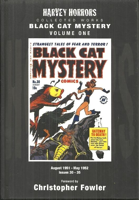 BLACK CAT MYSTERY - HARVEY HORRORS - VOL #1 - ISSUES #30-#35 - PRECODE  COMICS