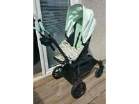 orbit baby g3 pram imported mint green RARE on parr with bugaboo stokke and icandy