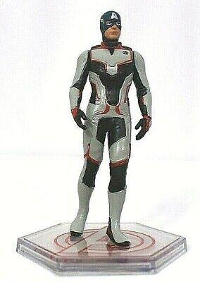 Disney CAPTAIN AMERICA Avengers FIGURINE Cake TOPPER Marvel END GAME Suit NEW