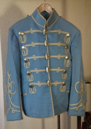 Hussar Atilla Uniform Tunic 1880-1910 Era Unknown but Likely British, Prussian