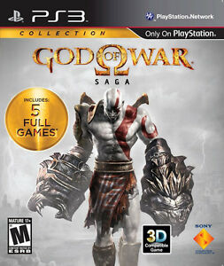 GOD OF WAR SAGA COLLECTION PS3 GAME BRAND NEW & SEALED