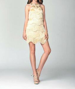 Cocktail Fringe Dress for RENT Size Medium and Small