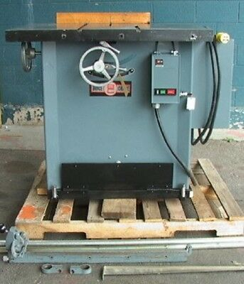 Boice Crane M 3017 5hp Aluminum Cutting Table Saw Nice