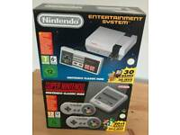 Snes mini and nes mini brand new sealed
