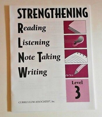 Strengthening Reading Comprehension, Listening, Note Taking, Writing 3rd Grade 3