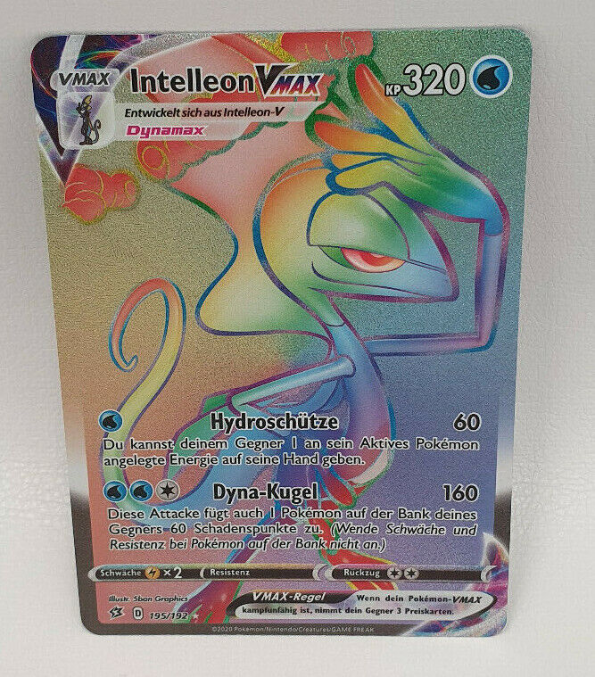 HoloNM Deutsch Pokemon Karte Intelleon V 049//192 Clash der Rebellen