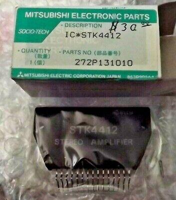 Mitsubishi Power Amplifier Integrated Circuit Stk4412 - New