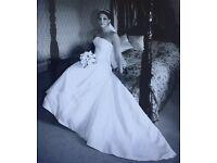 Wedding Dress, Size 10-12, Ivory, Eddy K