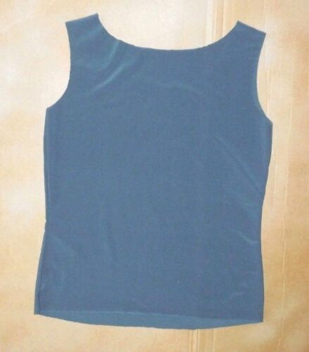 NWOT Raw Edge Tank Top Gray Large Child Dance Layer Polyester Spandex