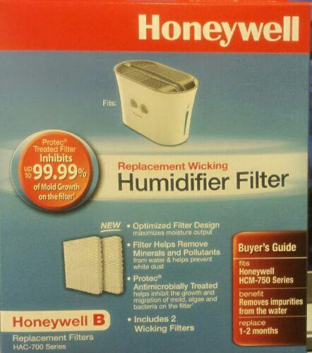 New Honeywell Humidifier Filter B Model HAC700TV1 Fit HCM-750 Series 2 Pcs/ Pack