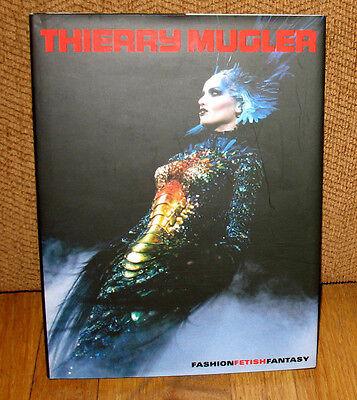 SIGNED Thierry Mugler Fashion Fetish Fantasy French Designer Artist 1st HC DJ