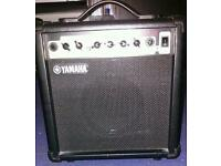 Yamaha GA-15 Guitar amp and Badger piccola 8w guitar amp