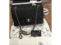 27157cc57a39e2 Chanel medium flap bag