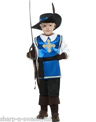 Jungen Musketier Lehrplan Buch Tag Woche Verkleidung Kleid Kostüm Outfit