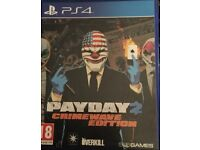 PS4 game payday 2