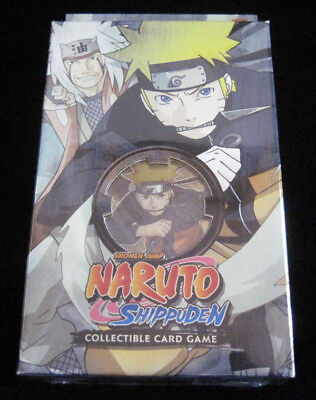 Naruto Will of Fire TCG CCG Naruto Starter Deck - Cards, Mat, Manual, -