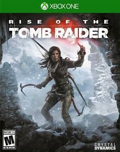 RISE OF THE TOMB RAIDER XBOX ONE NEUF